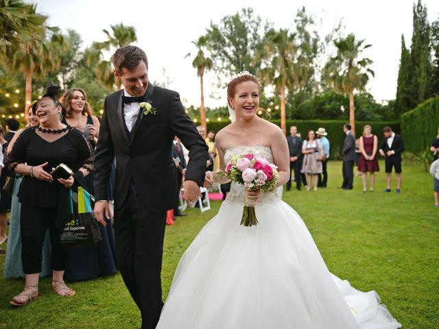 La boda de Michael y Laura en Fuente Vaqueros, Granada 17