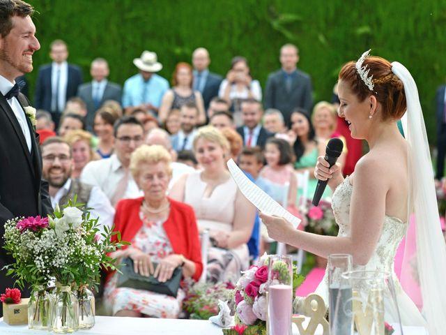 La boda de Michael y Laura en Fuente Vaqueros, Granada 15