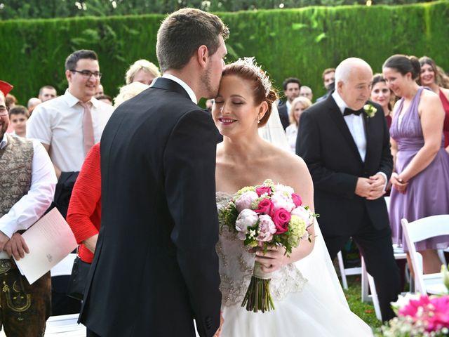La boda de Michael y Laura en Fuente Vaqueros, Granada 24