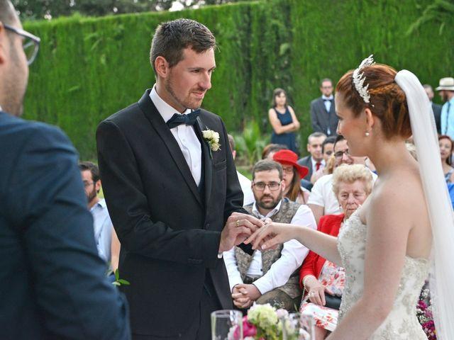 La boda de Michael y Laura en Fuente Vaqueros, Granada 25