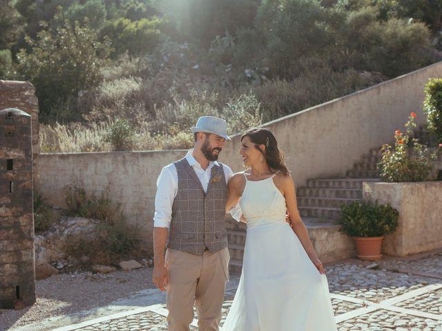 La boda de Carlos y Silvia en Culla, Castellón 1