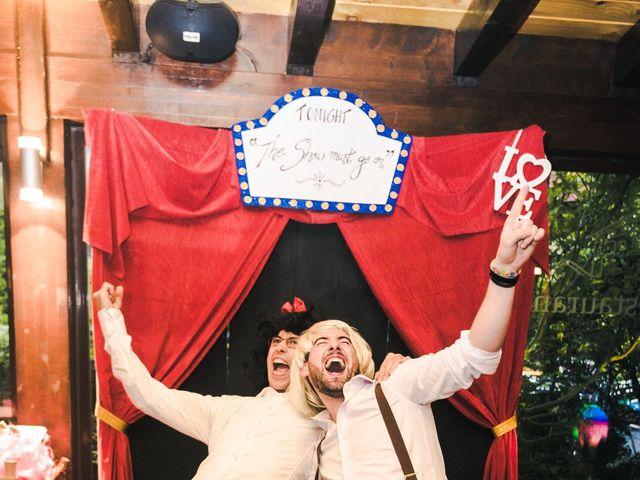 La boda de Aitor y María en Bilbao, Vizcaya 121