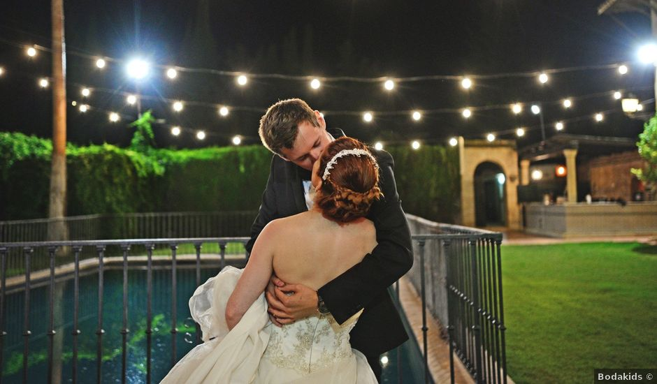 La boda de Michael y Laura en Fuente Vaqueros, Granada