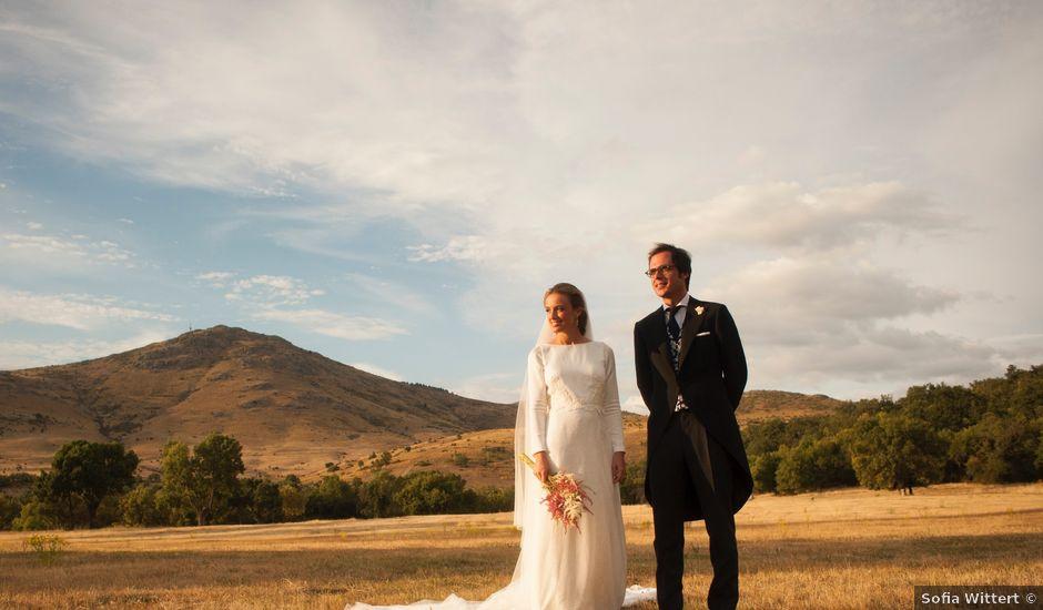 La boda de Perico y Leticia en  La Granja de San Ildefonso, Segovia