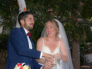 La boda de Cristina  y Adan