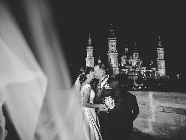 La boda de Aitor y Jéssica en Zaragoza, Zaragoza 1