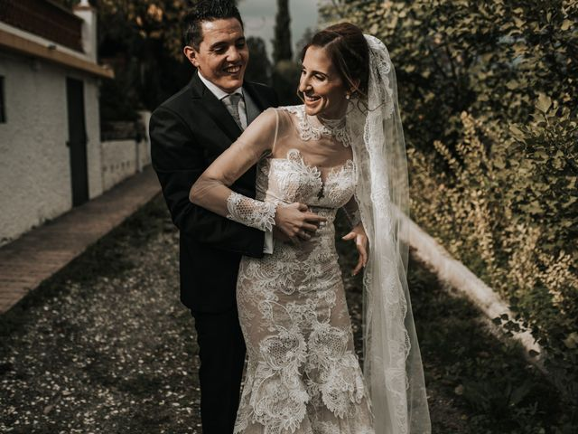 La boda de Miguel y Miriam en Estación De Cartama, Málaga 40
