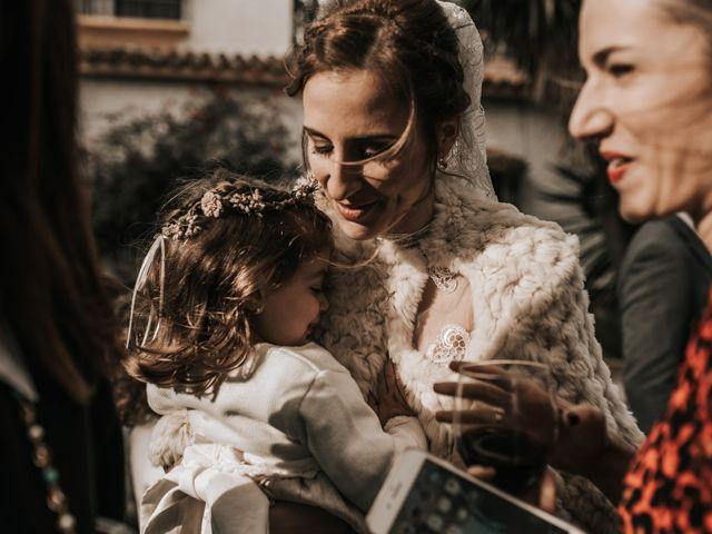 La boda de Miguel y Miriam en Estación De Cartama, Málaga 45
