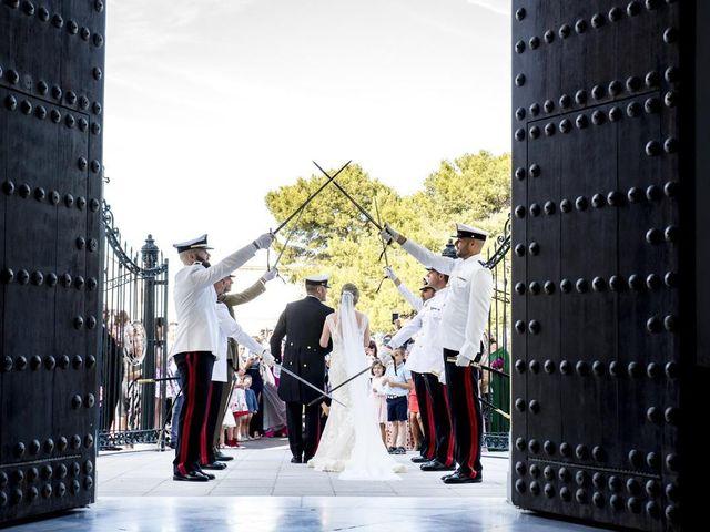 La boda de David y Eva en San Fernando, Cádiz 1