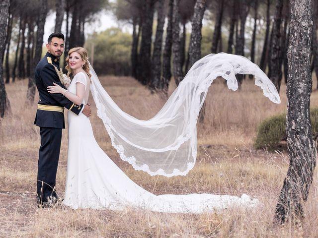 La boda de David y Lucia en Valdetorres De Jarama, Madrid 36