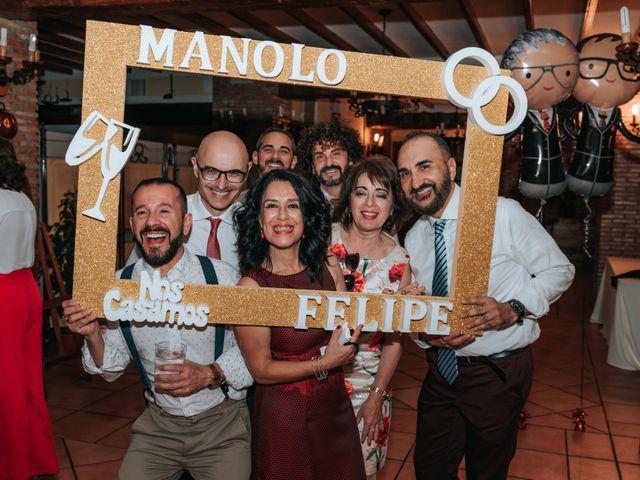 La boda de Felipe y Manolo en Murcia, Murcia 62