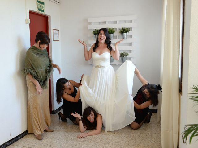 La boda de Paula y Julio en Sant Quirze Safaja, Barcelona 9