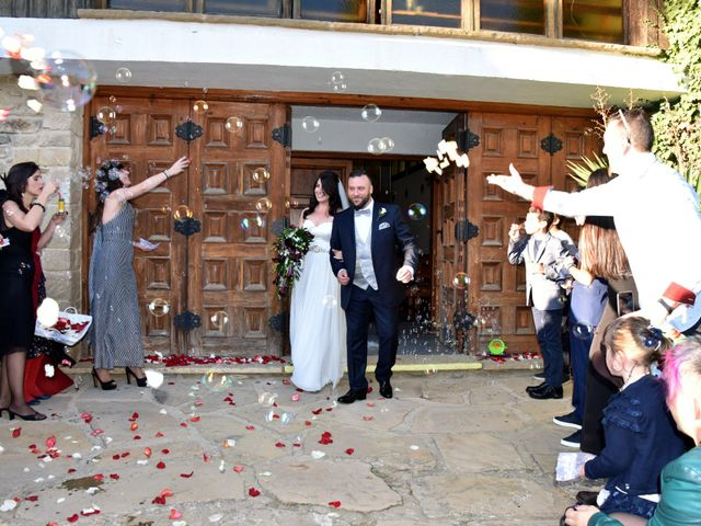 La boda de Paula y Julio en Sant Quirze Safaja, Barcelona 15