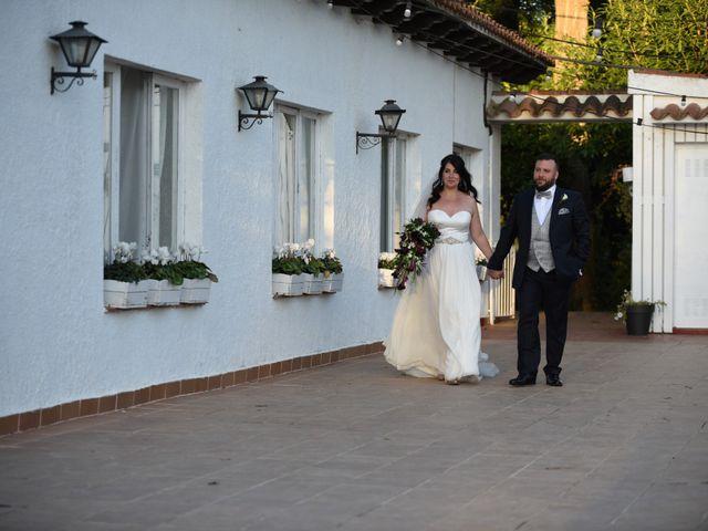 La boda de Paula y Julio en Sant Quirze Safaja, Barcelona 25