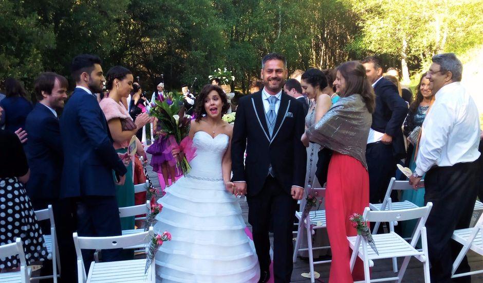 La boda de David  y Mónica en Sarreaus, Orense