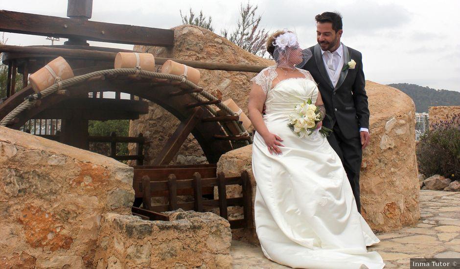 La boda de Alejandro y Leticia en Sant Josep De Sa Talaia/sant Josep De La, Islas Baleares