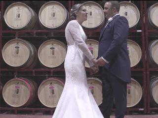 La boda de Azucena y Victor