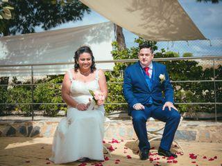 La boda de Arelys  y Juan José