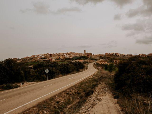 La boda de Pere y Elisa en Horta De Sant Joan, Tarragona 1