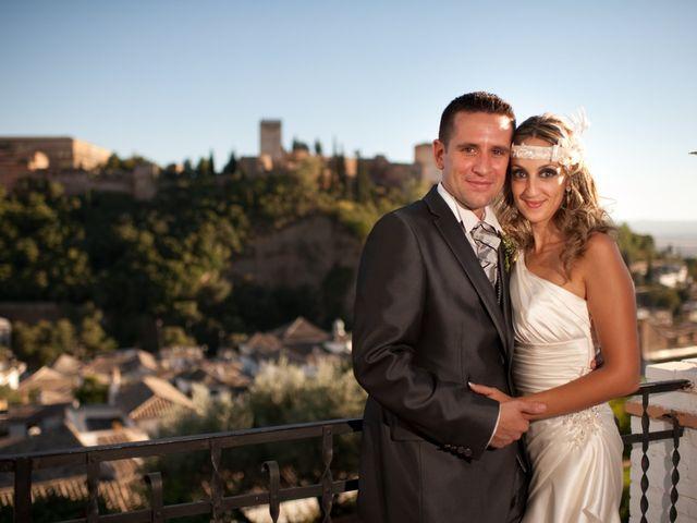 La boda de Gema y Álvaro en Granada, Granada 3
