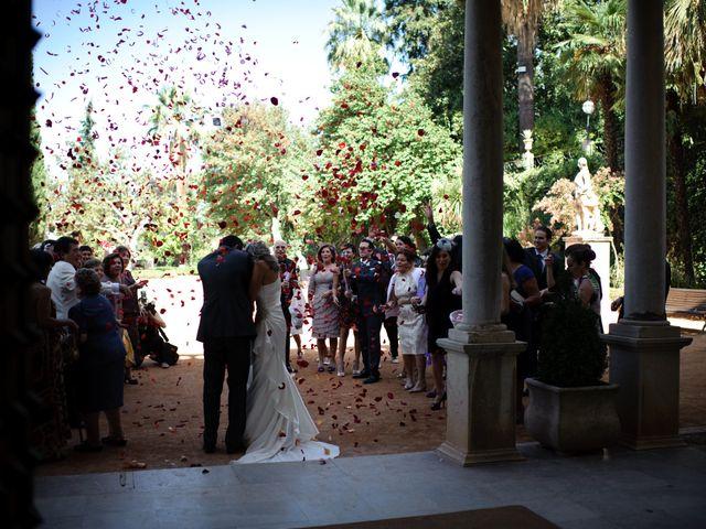 La boda de Gema y Álvaro en Granada, Granada 12