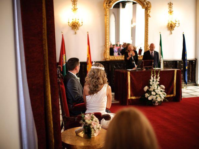La boda de Gema y Álvaro en Granada, Granada 15