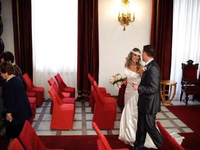 La boda de Gema y Álvaro en Granada, Granada 16