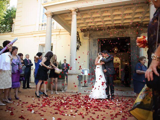 La boda de Gema y Álvaro en Granada, Granada 17