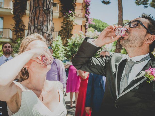 La boda de Isaac y Marta en S'agaro, Girona 54