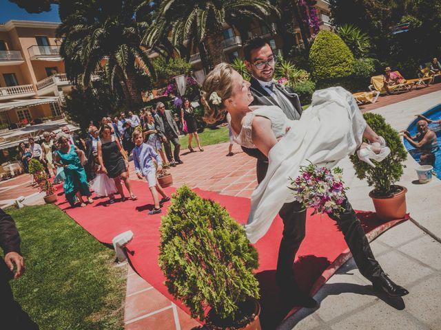 La boda de Isaac y Marta en S'agaro, Girona 57