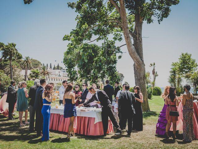 La boda de Isaac y Marta en S'agaro, Girona 62