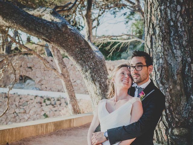 La boda de Isaac y Marta en S'agaro, Girona 76