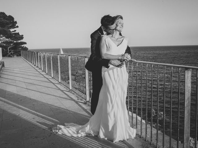 La boda de Isaac y Marta en S'agaro, Girona 79