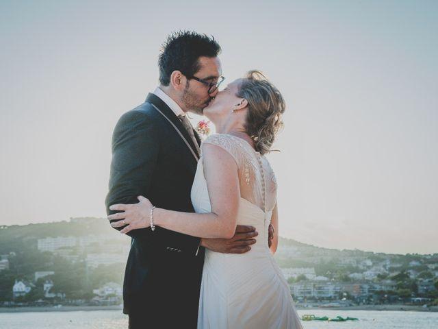 La boda de Isaac y Marta en S'agaro, Girona 82