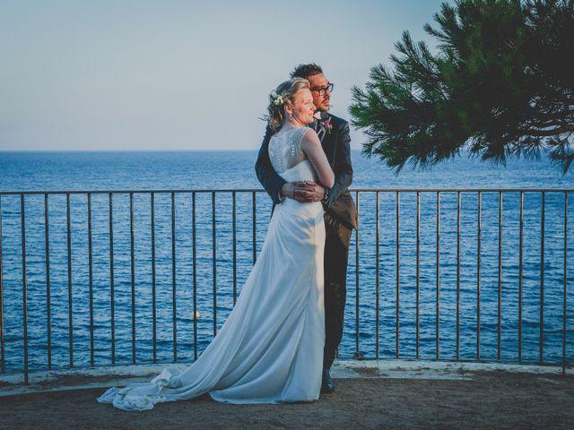 La boda de Isaac y Marta en S'agaro, Girona 87