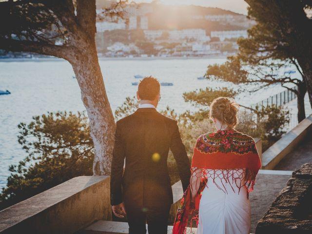 La boda de Isaac y Marta en S'agaro, Girona 88