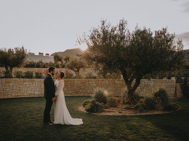 La boda de Víctor y Inés en Muro De Alcoy, Alicante 75