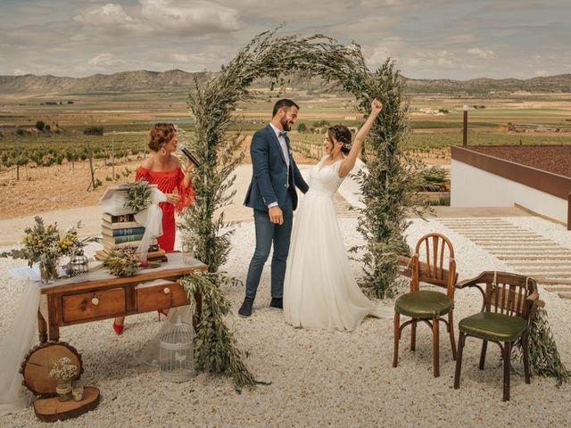 La boda de Juanón y Marta en Yecla, Murcia 1