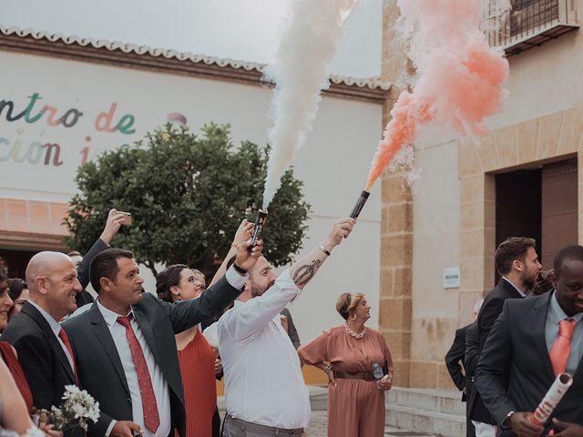 La boda de Rubén  y Marina  en La Joya Nogales, Málaga 11