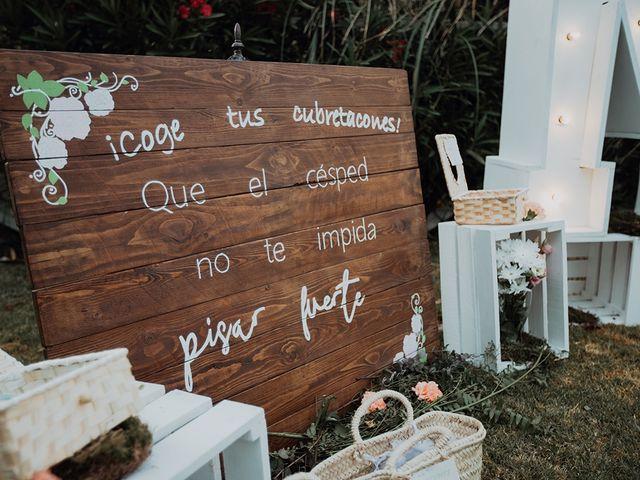 La boda de Rubén  y Marina  en La Joya Nogales, Málaga 14