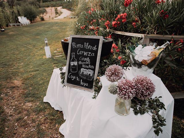 La boda de Rubén  y Marina  en La Joya Nogales, Málaga 18