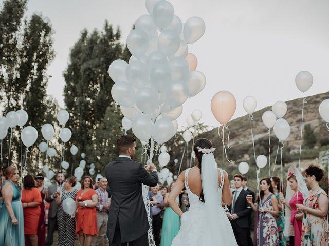 La boda de Rubén  y Marina  en La Joya Nogales, Málaga 26