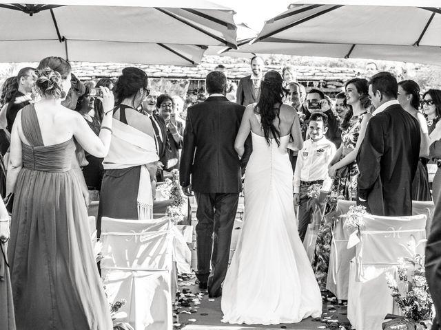 La boda de Francisco y Alexandra en Guadarrama, Madrid 1