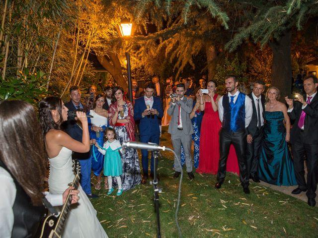 La boda de Francisco y Alexandra en Guadarrama, Madrid 45