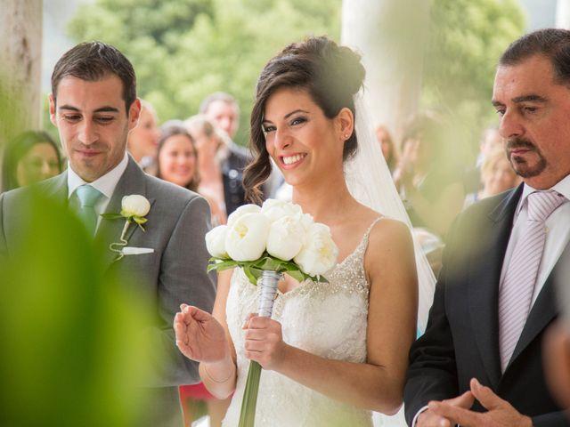 La boda de Nando y Uxía en Outes, A Coruña 11