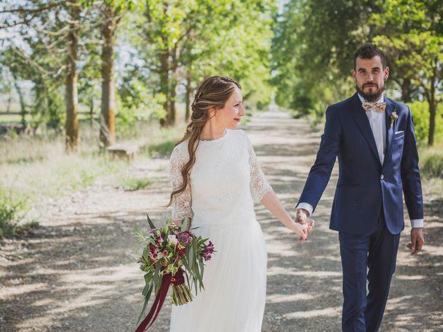 La boda de Adrián y Aroa en Piña De Campos, Palencia 31