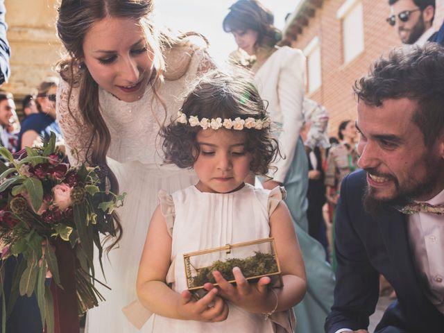 La boda de Adrián y Aroa en Piña De Campos, Palencia 37