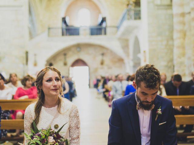 La boda de Adrián y Aroa en Piña De Campos, Palencia 40