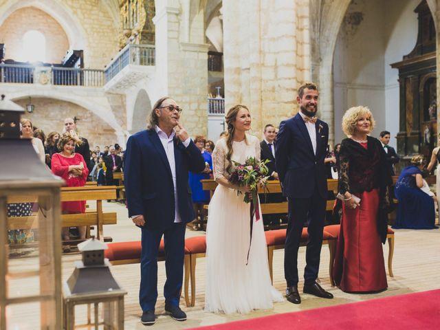 La boda de Adrián y Aroa en Piña De Campos, Palencia 42