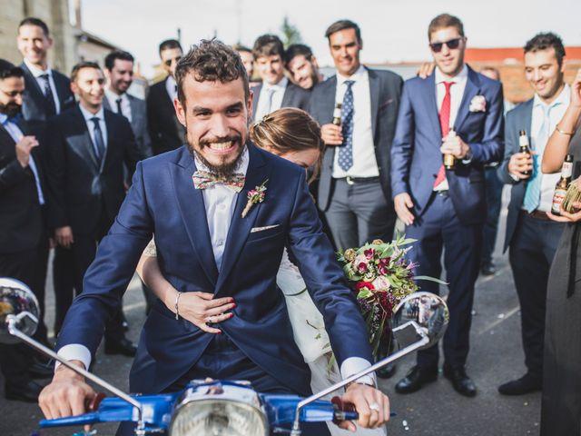 La boda de Adrián y Aroa en Piña De Campos, Palencia 53